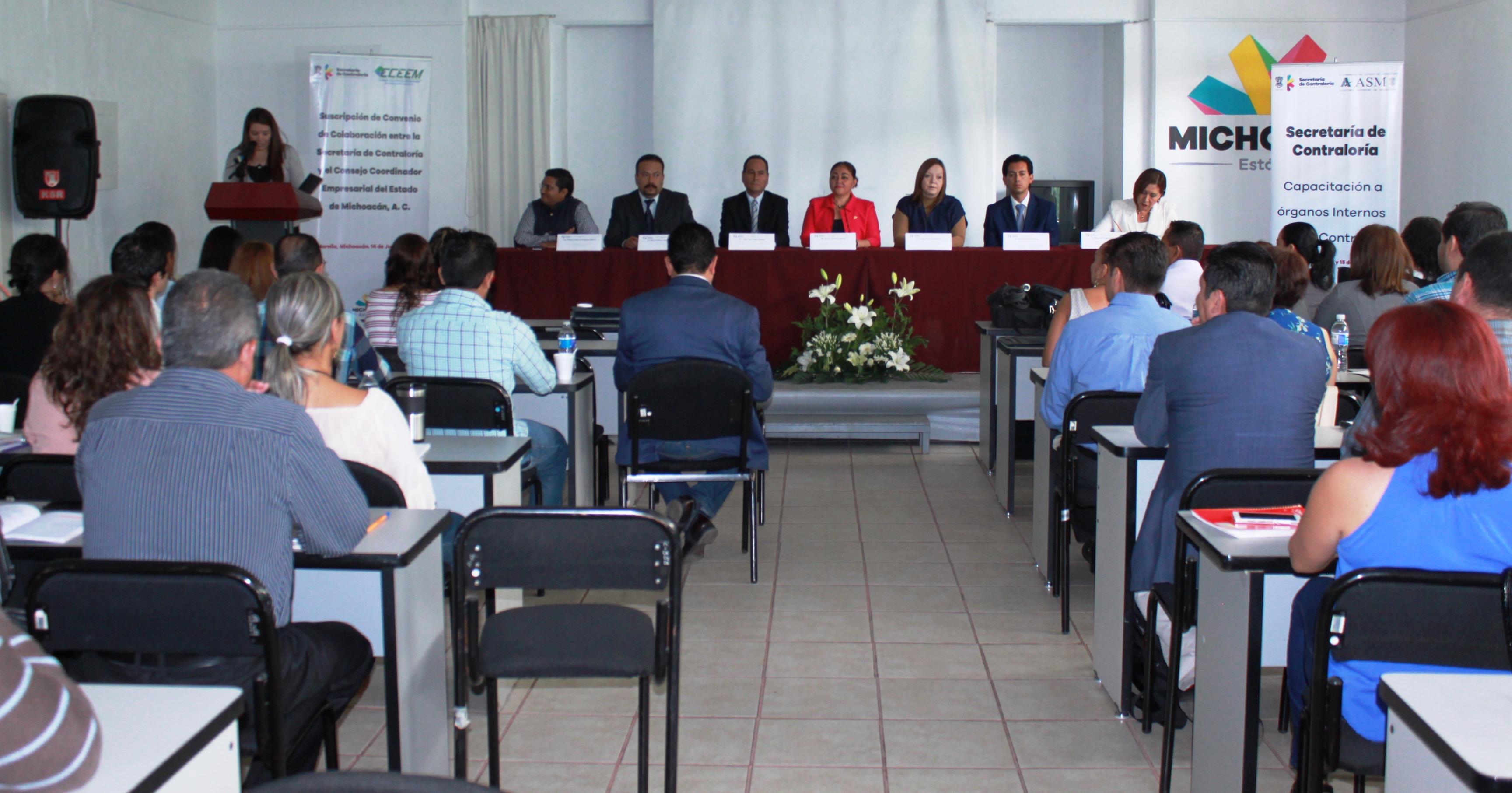 SECOEM   PROFESIONALIZAN A LOS TITULARES DE LOS ÓRGANOS INTERNOS DE ...